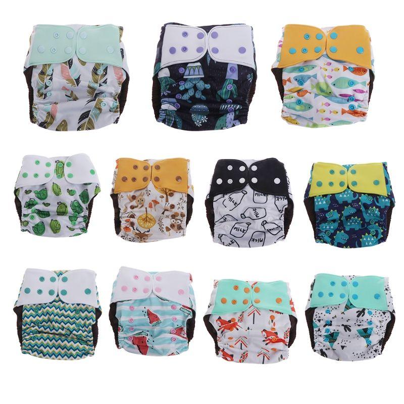 5473548c7 2019 Baby Nappy Washable Reusable Real Cloth Pocket Nappy Diaper ...