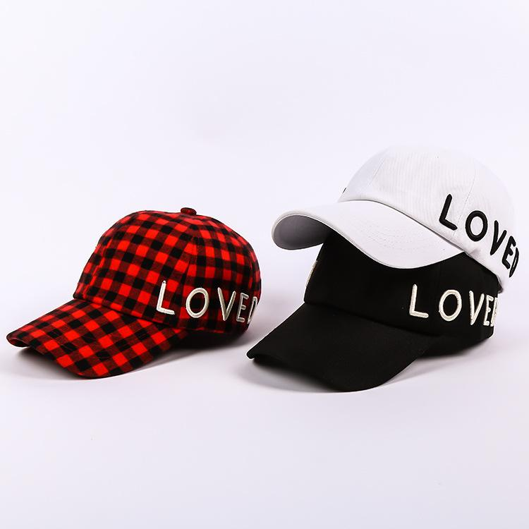 9cced2bb5f55a Hat Men And Women New Baseball Caps Bend Hats Fashion Casual Wild ...
