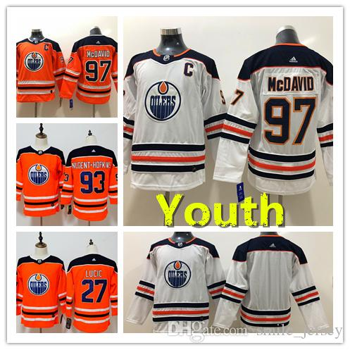 france 2019 youth edmonton oilers 97 connor mcdavid hockey jerseys stitched 29  leon draisaitl kids jersey 5d73caa73