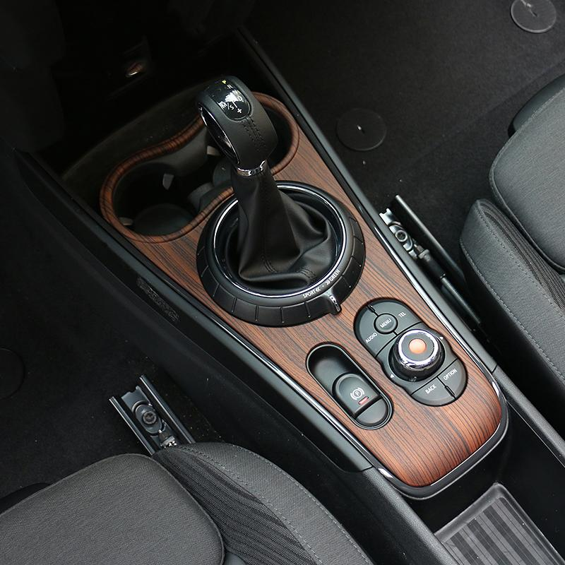 Car Interior Mouldings Center Console Gear Shift Panel Abs Stickers