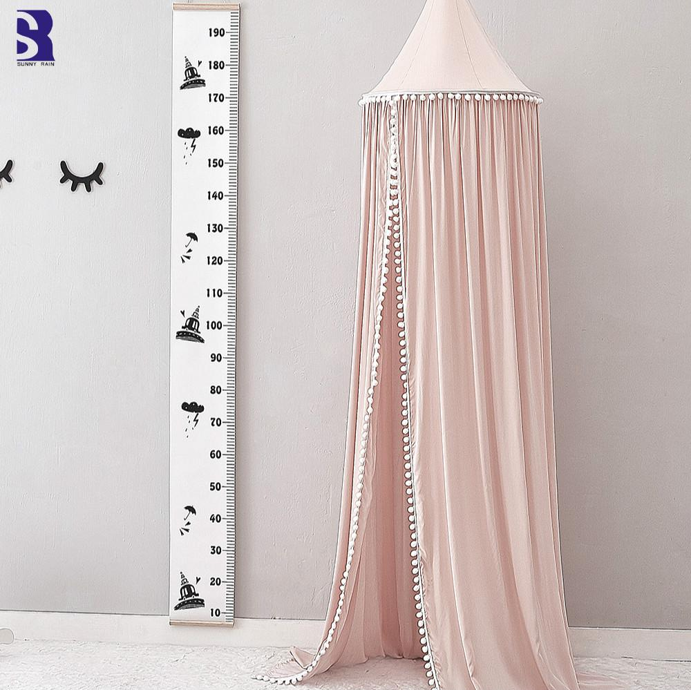 SunnyRain Crib Canopy Mosquito Bed Tent Girls Room Decor Playing Area Tent Round Dome Canopy 245cm Height Bug Netting Mosquito Net Fabric From Curteney ... & SunnyRain Crib Canopy Mosquito Bed Tent Girls Room Decor Playing ...