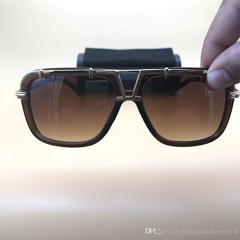 Legends Sunglasses Brown Women Men Eyewear Luxury Brand Clear Eyeglasses  Metal Frame Sunglasses Lunettes De Soleil 4019 Sunglasses Oval Sunglasses  4028 ... 285372c6ed