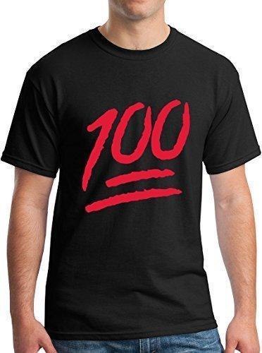 a144e00e Family T Shirts Short Keep It 100 Emoji Red Logo Funny Cool Gift Men Summer  O Neck Tee Shirt Denim Shirts Design T Shirts From Jie58, $14.67| DHgate.Com