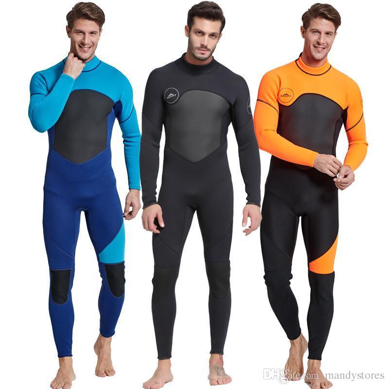 09c2c15ca7 2019 Scuba Diving Wetsuit Men Diving Suit Neoprene Swimming Wetsuit Surf  Triathlon Wet Suit Swimsuit Full Bodysuit Jellyfish Suit From Mandystores,  ...