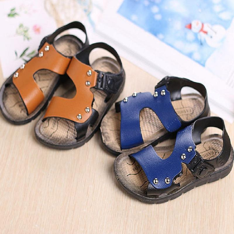 6f6afe395 Summer Baby Boy'S Shoes Boy Sandals 2 16 Years Old Shoe Kids Summer Shoes  Children Sandals Hot Sale 7164 Kids Online Shoes Boots Childrens From  Humom, ...