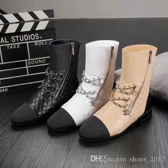 New Fashion Women's Martin boots Real Leather shoes Brand woman combat boots free delivery