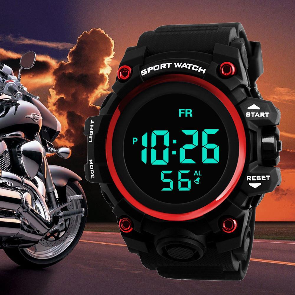 b76bffedc73 Luxury Men Analog Digital Army Sport LED Waterproof Wrist Watch Electronic  Clock Relogio Digital Feminino Esportivo Shoes Online Shopping Online  Watches ...