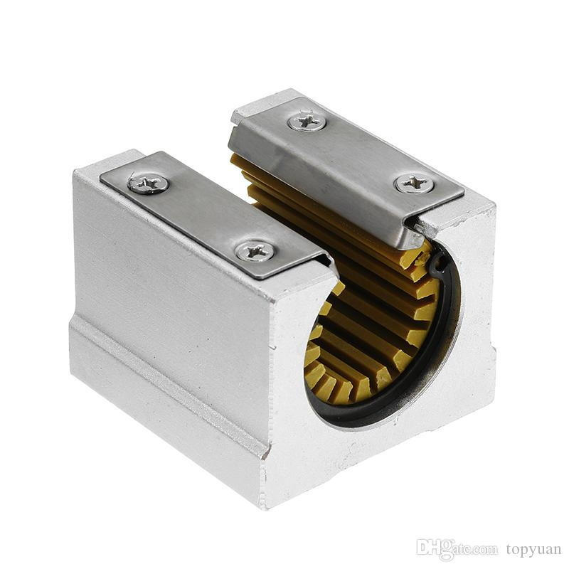 Solid Polymer SBR20UU 20mm Open Block Linear Bearing Slide CNC Router Linear Slide