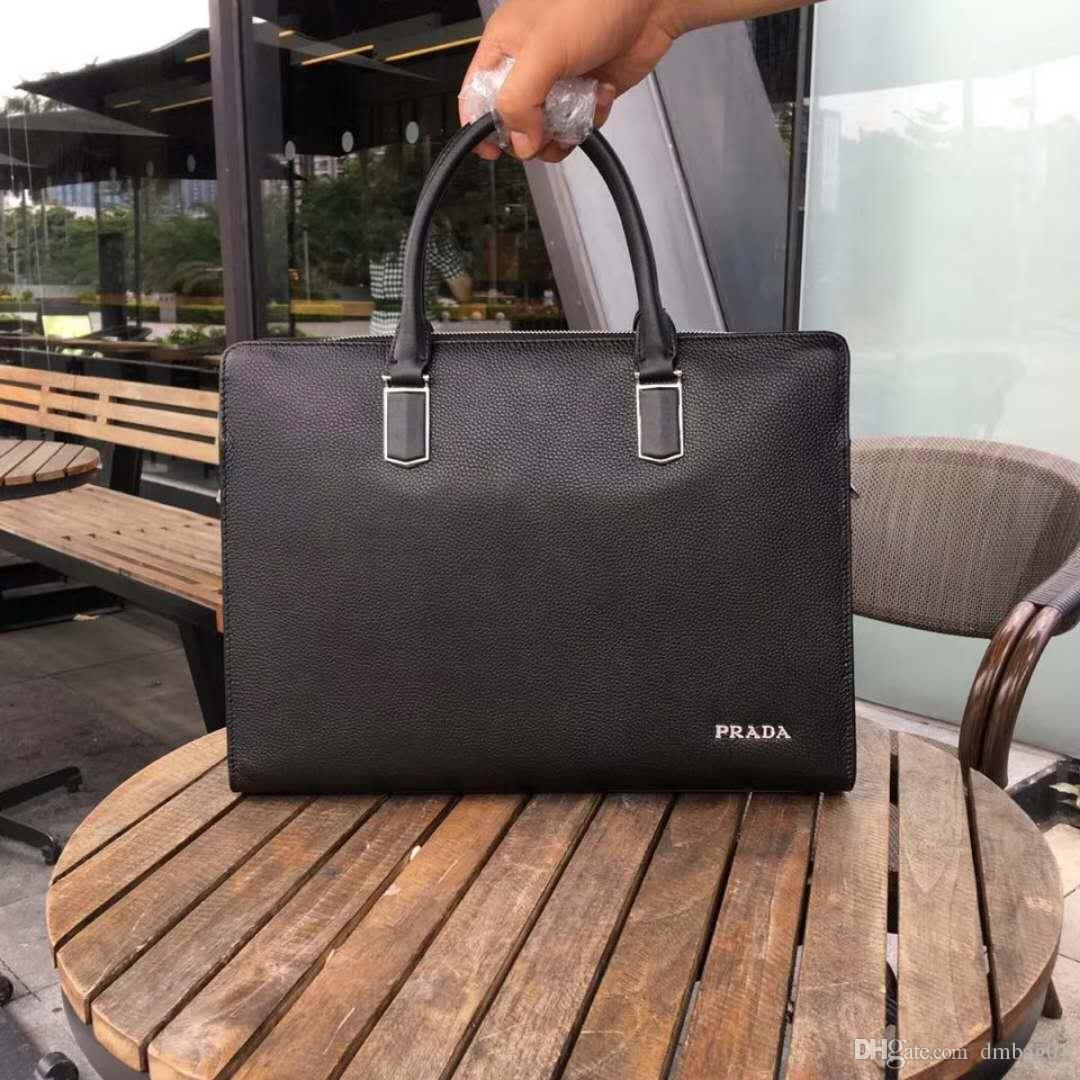 e79241d322 Pink Sugao Mens Briefcase Business Bags Top Genuine Leather Mens Messenger Bag  Tote Famous Brand Men Crossbody Bag Shoulder Bag For Work Work Bags  Handmade ...