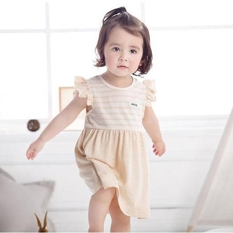 4d9d9cb91d Baby Girls Dress Fashion Summer Treasure Dress Girl s Lotus Leaf ...