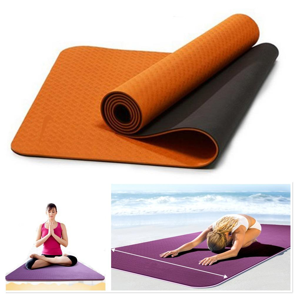 workout padded folding yoga itm tri exercise thick mats mat gym training main slip non