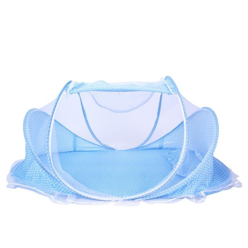 Mother & Kids New Infants Mosquito Nets Insect Nets Bed Mattress Pillow Three-piece Suit Summer Baby Crib Netting Foldable Bedding Netting Excellent In Cushion Effect Crib Netting