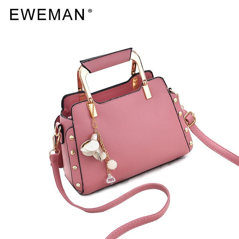 671418433a EWEMAN Fashion 2018 Luxury Handbags Women Leather Messenger Bags Women  Famous Brand Hand Bag Evening Crossbody Shoulder Bag Handbag Wholesale Womens  Bags ...