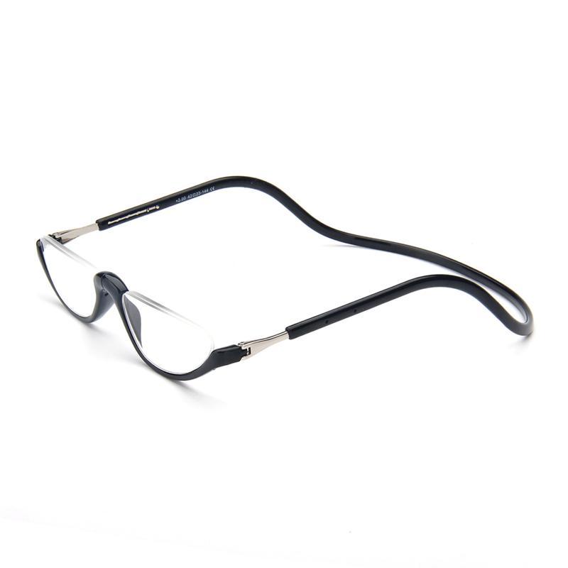 bd2f22033 Compre Unisex Ímã Óculos De Leitura Homens E Mulheres Ajustável Pendurado  No Pescoço Magnético Frente Aro Óculos De Leitura Eyewear Moda De Xmykcsm,  ...