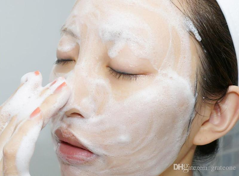 DHL INNISFREE Jeju Volcanic Pore Cleansing Foam Olive Real Cleasing Foam Green Tea Cleaning cleanser facial foam face cream DHL
