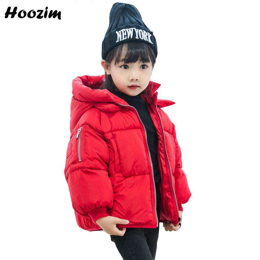 7916977aa61a9 Winter Jacket For Girls 2 3 4 5 6 7 Years Fashion Kids Coat Causal Brown  Cotton Parka Children Autumn Thick Warm Jacket For Boy Young Girls Winter  Coats ...