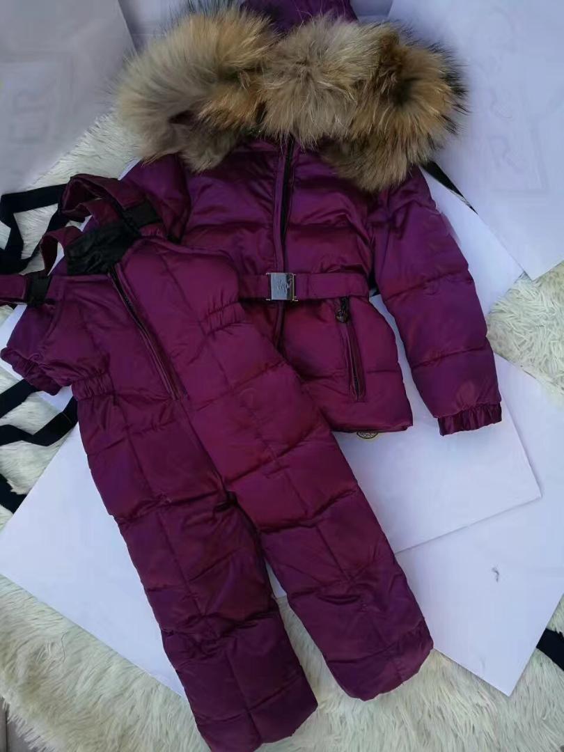 8b0ecd73598f 2019 2018 Children Ski Suit Russian Winter Baby Boy Suit Duck Down ...