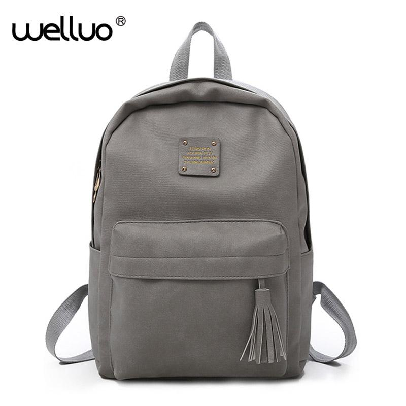 e8efaf4fbf Pu Leather Backpack Women Casual Backpacks Ladies Back Pack For Teenage  Girls School Bags Travel Students Mochila Bolsa Xa430h Best Laptop Backpack  Wheeled ...