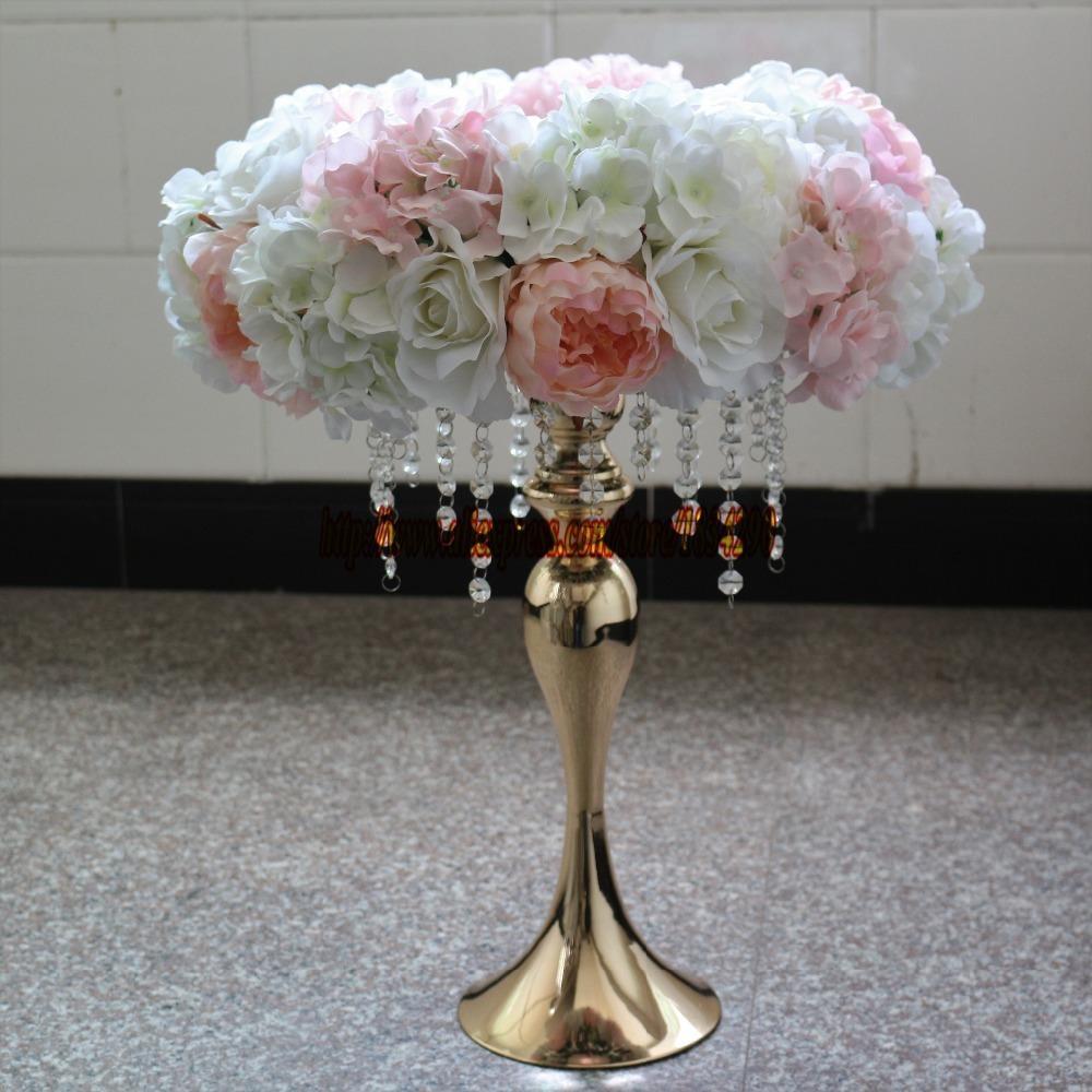 Artificial Rose Hydrangea Garland Wedding Decoration Table