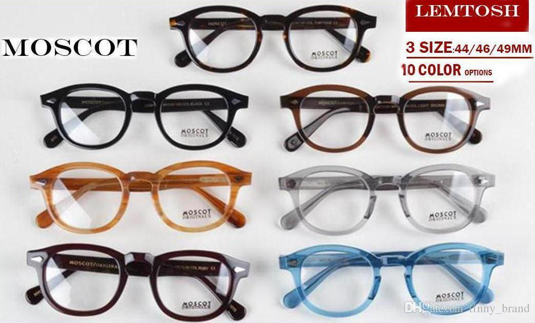 New Design Moscot Lemtosh Eyewear Johnny Depp Sun Glasses Frames Top ...