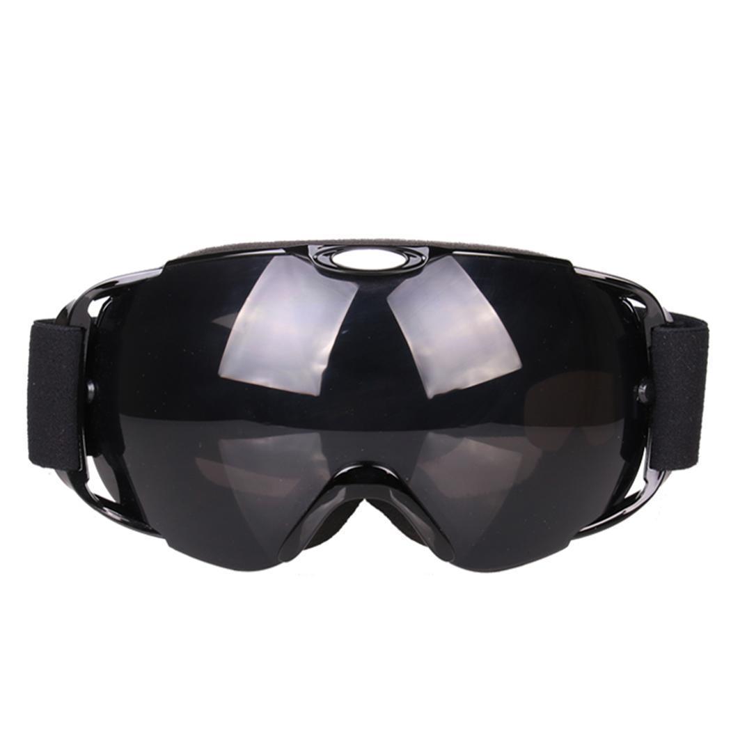 cd233fa71b9 Windproof Anti-fog Double Glasses Lens Ski Ski Layer Goggles Unisex ...