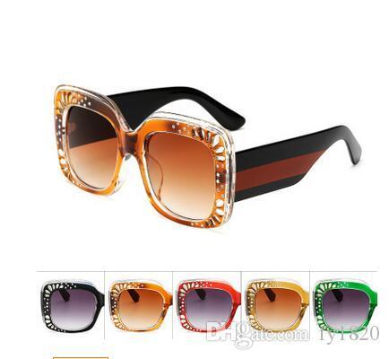 353621e2473 Luxury 2018 Brand Summer Fashion Vintage Sunglasses Women Brand ...