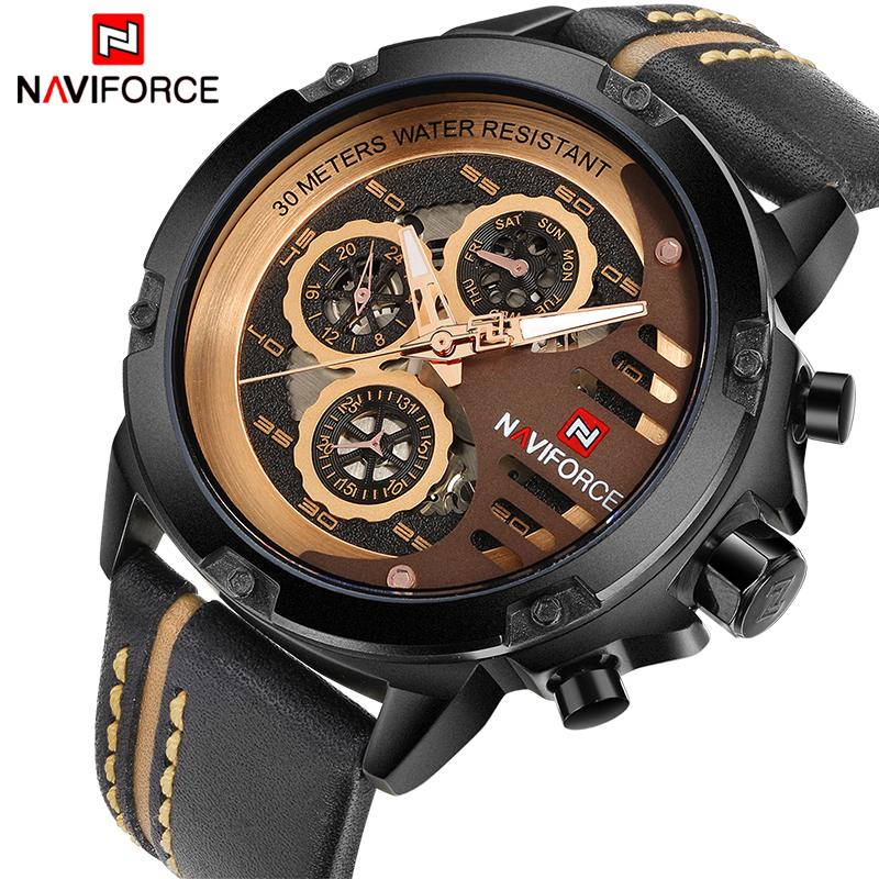 product dress waterproof store brand casual steel luxury watch six man sport three pin calender quartz fashion wrist watches for