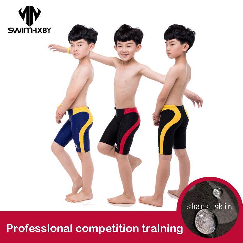Entrenamiento Natación Hxby Para De Cortos Hombre Troncos Traje Pantalones Niños Baño Competición wnN0Ovm8