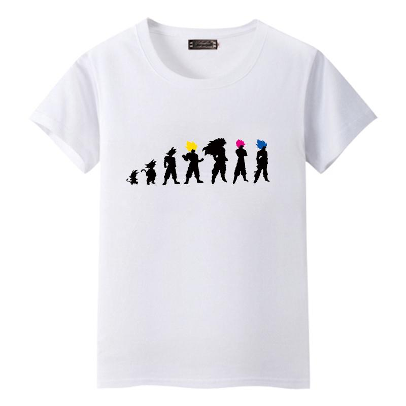 78c92a37 Dragon Ball T Shirt Men Summer Dragon Ball Z Evolution Of Goku Slim Fit  Cosplay 3D T Shirts Anime Vegeta Tshirt Homme Clever T Shirt 10 T Shirt  From ...