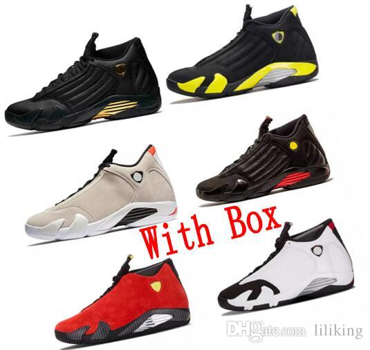 the latest 8992f a4b12 14s Trainers Basketball Shoes Last Red Suede Varsity Red Shot Black Toe  Thunder Gs Sport Hot Sneaker Shoes 14s Trainers Last Red14s Suede Varsity  Red Shot ...