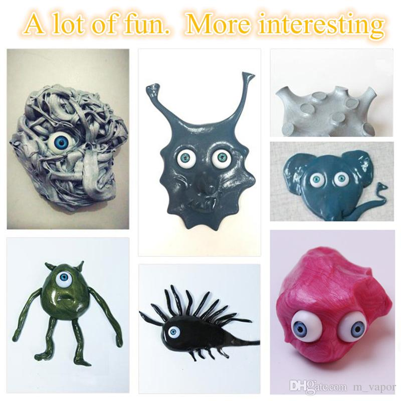 Thinking Putty Magnetic Intelligent Plasticine Creative Hand Silly light Clay Fimo Smart Fun Slime Playdough Toys Kids Gift