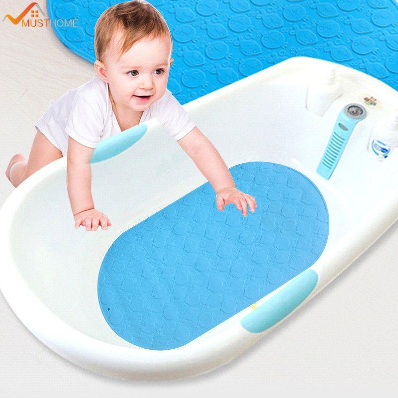 Online Cheap 25cmx42cm Soft Silicone Child Non Slip Bath Mat Mini ...