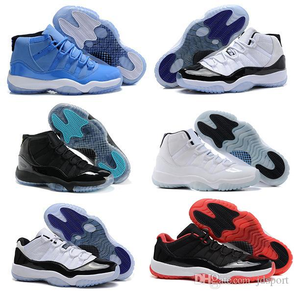 outlet store 46b5d 7b440 11s Gym Red Chicago Midnight Navy WIN LIKE 82 96 UNC Space Jam PRM Heiress  men Basketball Shoes sports Sneaker