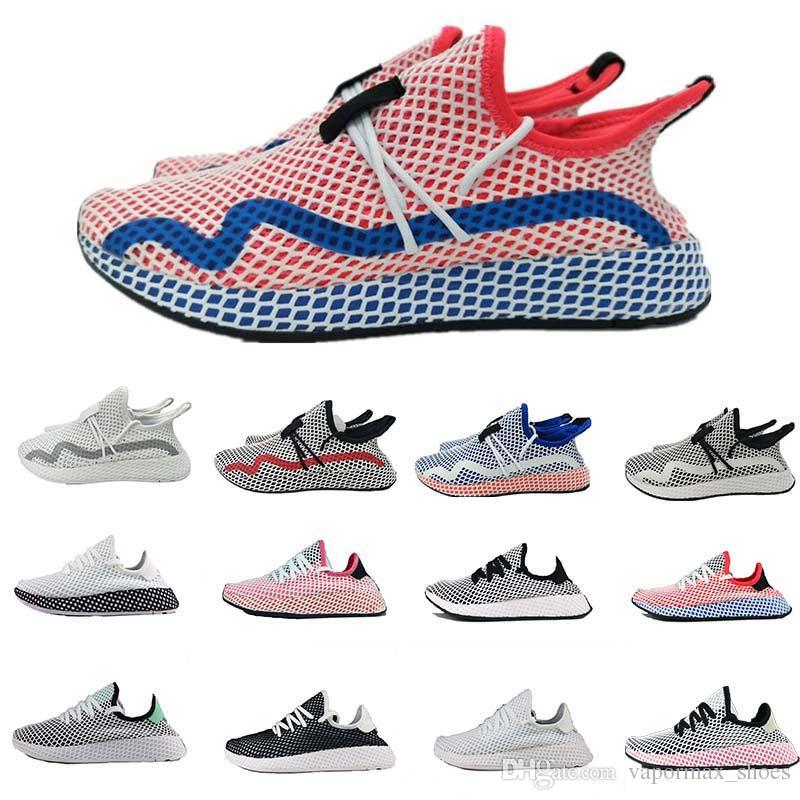 info for e7126 808f2 Acquista Deerupt Sneakers Runner Fashion Scarpe Da Corsa Uomo Donna Run  Sport Sneaker Triple S Bianco Rosa Oreo Cheap Primeknit Mesh A 122.85 Dal  ...