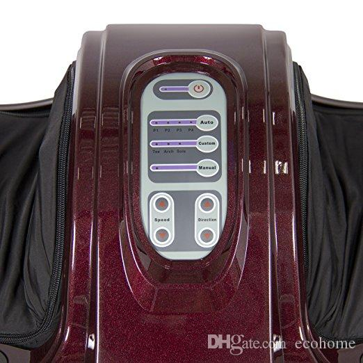 Foot Massager Electric Shiatsu Massager Kneading Rolling Foot Leg Calf Muscle Relief Machine with Remote Control