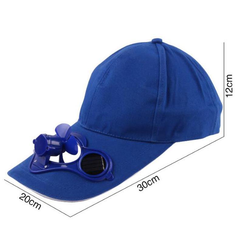 Solar Power Cap Suntan Hat Cooling Cool Fan For Sport Peaked Caps Outdoor Golf Baseball Fishing Snapbacks Baseball Hats