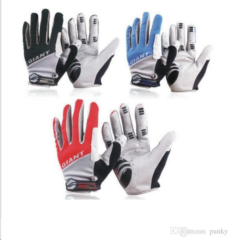 Gloves GIANT Winter Cycling Cycle GLOVES Touchscreen Full Finger Bike Bicycle BMX Mitts