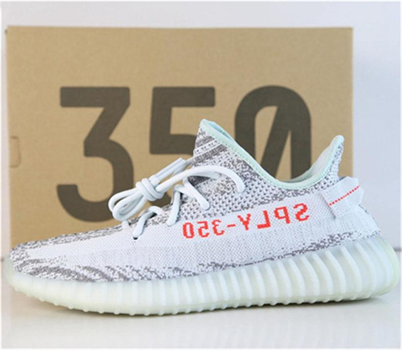2f839e9e9 Luxury Brand 350 Boost V2 Blue Tint B37571 Running Shoes Boost 350 V2 Kanye  West Butter Ice Yellow F36980 Yebra Sports Shoes Athletic Shoes Running  Shoes ...