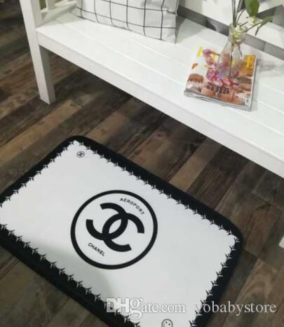 Fashion design floor mats living room bedroom door mats 50 * 80cm kitchen Nordic thick non-slip seat cushion home child mat