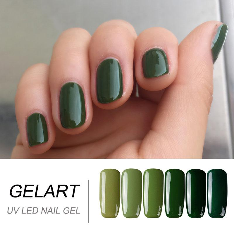 Wholesale Spring Green & Blue Color Series Nail Gel Easily Drying by ...