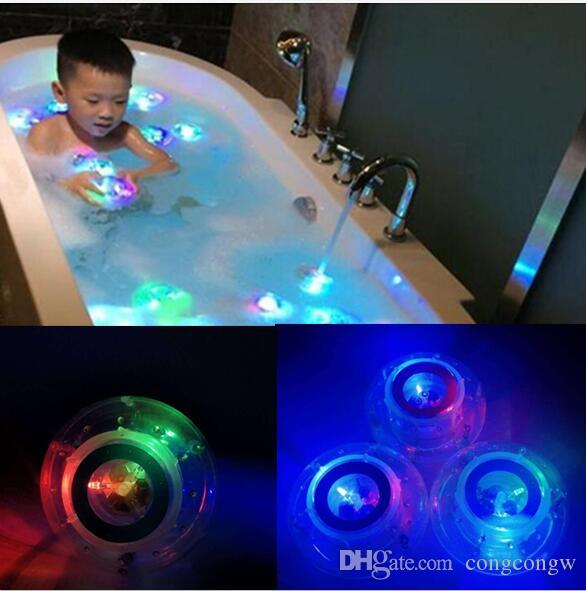New Led Bath Toys Party In The Tub Light Waterproof Funny - Party in the bathroom