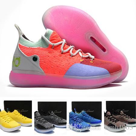 6e07ddfd7dff 2019 New Arrival Kevin Durant 11 Basketball Shoes Men KD 11 XI Gold Championship  MVP Finals Sports Training Sneakers Run Shoes Size 40 46 Barkley Shoes ...