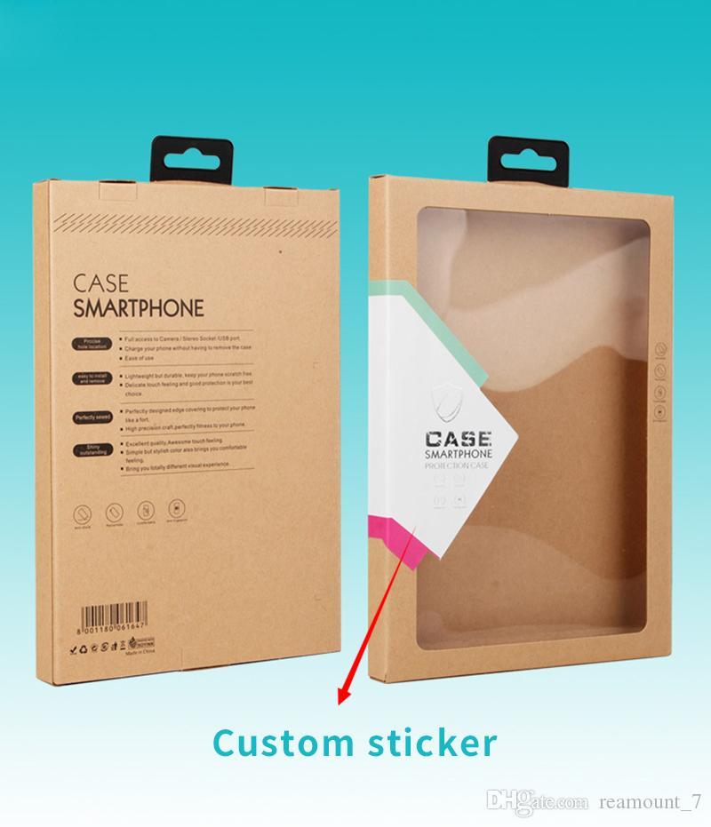 Scatola di imballaggio in carta da 10 pezzi copertura da tavolo Custodia cuscinetto mini air 2 8 9 10 pollici Cover Shell con adesivo