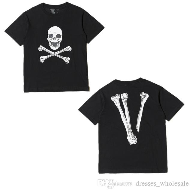 Amigos Mujeres Hombres Hip Esqueleto Alta Hop Tees Camiseta Calidad 1a1 Camisa V De Top Papking Fragmento mNw8n0