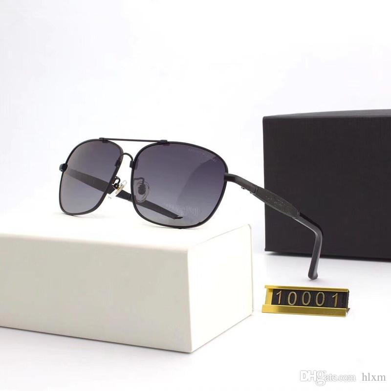 c0123e307d132 Compre 10001 De Alta Qualidade Lente Polarizada Piloto Moda Óculos De Sol  Para Homens E Mulheres Marca Designer Vintage Esporte Óculos De Sol Com  Caixa E ...