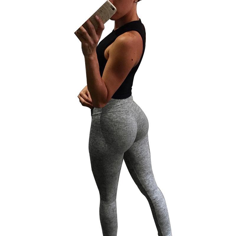 Fitness Mode Taille Gris Femmes Leggings Acheter Haute 2018 Foncé qxFPXw0nS