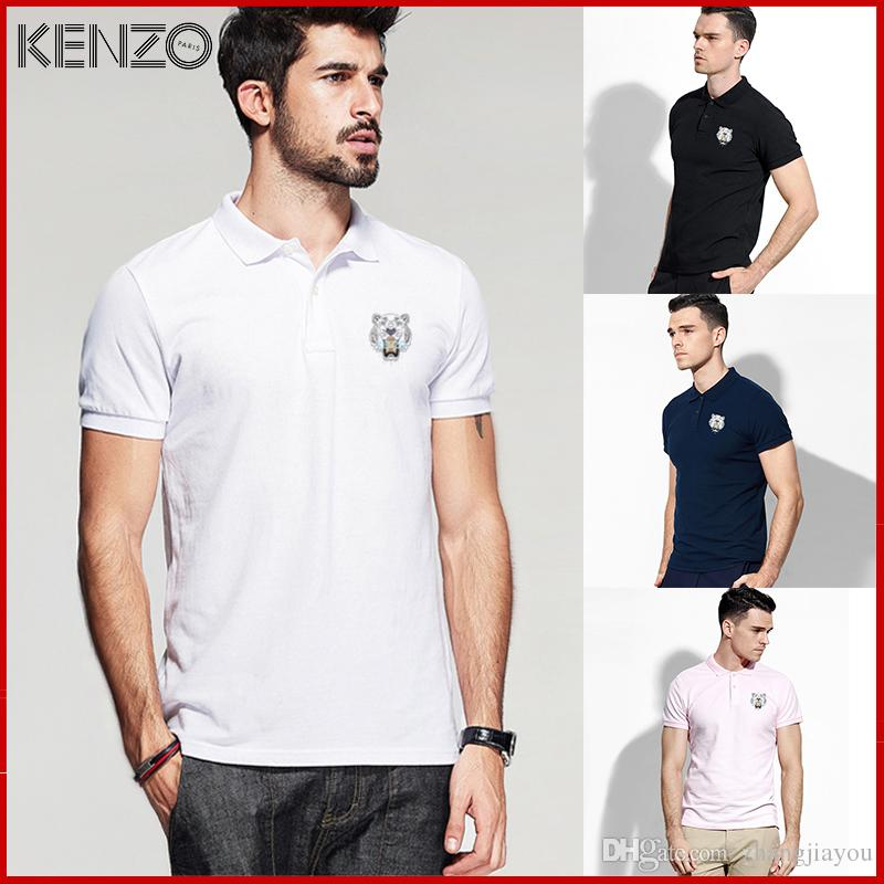 Plus Size M 3xl Brand New Mens Polo Shirt Men Short Sleeve Cotton