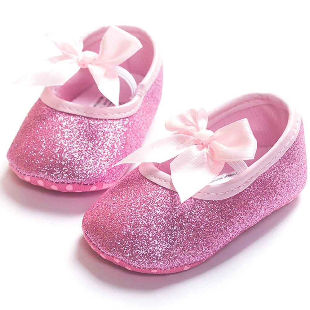 46328bf773a341 2019 ROMIRUS Bling Baby Girls Princess Mini Melissa Shoes Soft Bottom  Bowknot For First Walkers Children Kids Toddler From Sightly