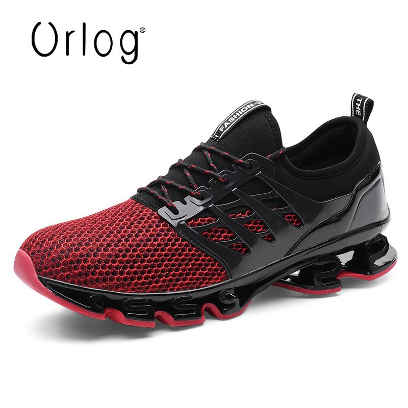 61ede638b24 2019 2018 New Sports Men Sneakers Running Walking Shoes Trending Style Gym  Shoes Breathable Trainers Sneakers For Male Big Size From Comen