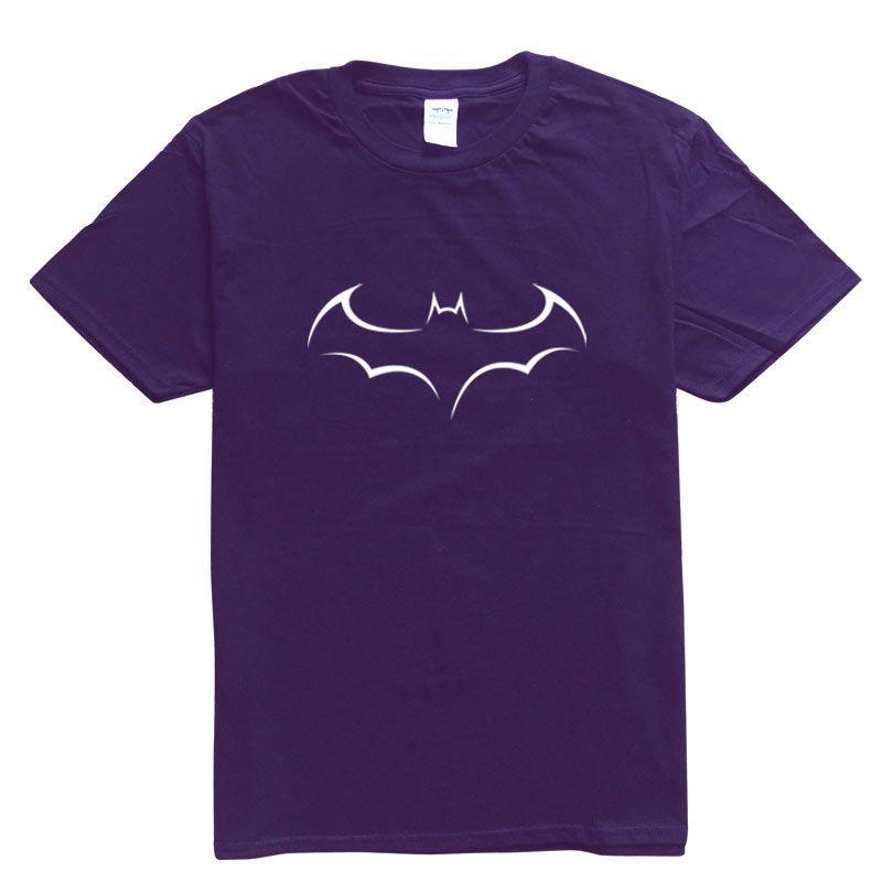 IGGY Marka Erkekler T-shirt Kısa Kollu Fanilalar Erkek Katı Pamuk Erkek Tee Yaz Yarasa Printing14 Renk Of Çeşit